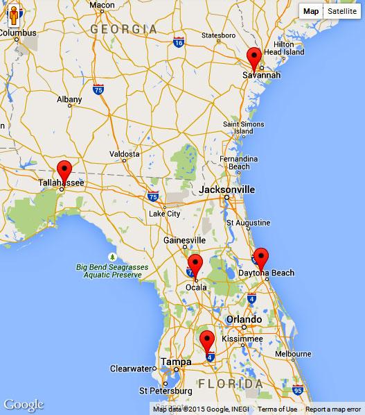 Flooring store Savannah, Tallahassee, Ormond Beach, Lakeland, Ocala
