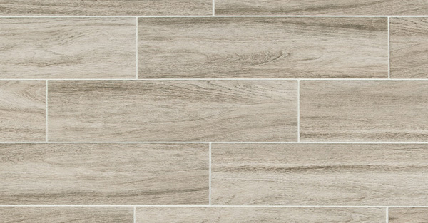 Wood-look porcelain tile